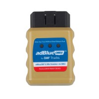 AD-Blue Emulator for DAF Trucks Plug and Drive Ready Device by OBD2