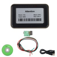 Truck Ad-Blue OBD2 Emulator 8-in-1 with Programming Adapter for Mercedes,MAN,Scania,iveco,DAF,Volvo, Renault and Ford