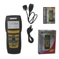 U581 LIVE DATA OBD2 EOBD Scanner Can-Bus Code Reader Support Francais