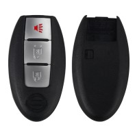 Smart Remote Shell 3 Button For Nissan 5 PCS