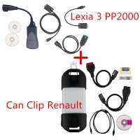 Lexia-3 V48 PP2000 PSA Diagnostic Tool plus Can Clip Renault V183
