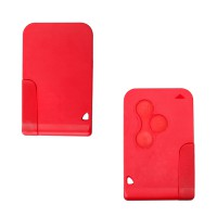 Megane Smart Key (Red Color) 433MHZ Renault