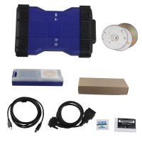 V141 VCM II for LandRover & Jaguar Diagnose and Programming Tool Blue Color
