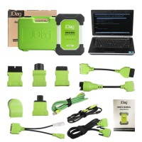 JDiag Elite II Pro J2534 Diagnostic and Coding Programming Tool with Full Adapters