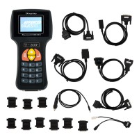 New Arrival V2017.17.8 T300 T300+ Key Programmer English Version BLACK
