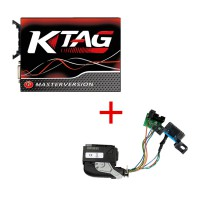 V2.25 KTAG K-TAG Firmware V7.020 Plus ECU ME9.7/272-273/ Renew Câble
