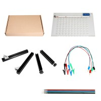 Simple LED BDM Frame with Mesh and 4 Probe Pens for FGTECH BDM100 KESS KTAG K-TAG ECU Programmer Tool