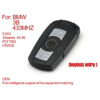BMW CAS3 pure smart key 3 buttons 433MHZ (Keyless-entry) PCF7952