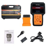 Foxwell NT644 Pro AutoMaster Full Système Scanner Avec Fonctions Spéciales EPB Oil Service DPF TBA TPS BRT