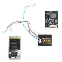 V96 JULIE CAR EMULATOR Supports Immo OFF Solutions,ESL,ELV,AirBag (Seat Occupancy Sensor),Tacho