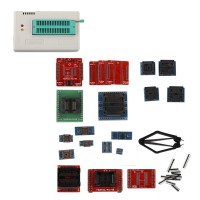 TL866II Plus USB High Performance Programmer Plus Full Set 21pcs Socket Adapteurs