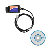 ELM327 USB V1.5 for Ford ELMconfig CH340 + 25K80 Chip HS-CAN/MS-CAN