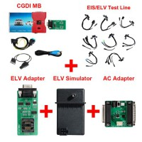 CGDI MB + EIS/ELV Test Line + ELV Adapter + ELV Simulator + AC Adapter