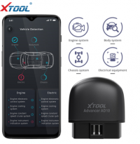 XTOOL AD10 OBD2 Diagnostic Scanner Fonctionne Sous Android / IOS / Windows