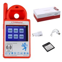 V5.18 Smart CN900 Mini Transponder Key Programmer Mini CN900 for 4C 46 4D 48 G Chips