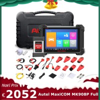 Original Autel MaxiCOM MK908P OBD Full System Diagnostic with J2534 MaxiFlash Elite Multi-Language