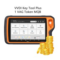 1 VAG Token MQB Online Immo Data Calculation Token for VVDI Key Tool Plus Supports MQB49 Remote