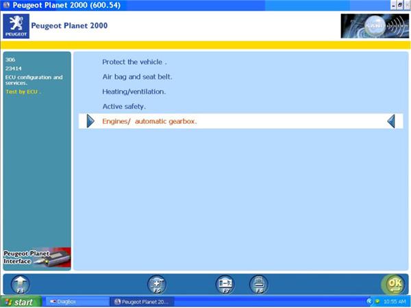 logiciel diag 2000 peugeot