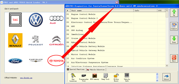 FVDI 2  Commander For Toyota LEXUS V9.0