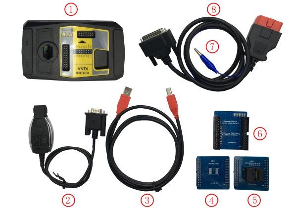 mb bga tool paquet