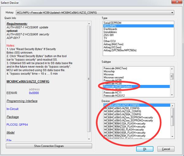Xprog-m v5.70 Conseils d'utilisation