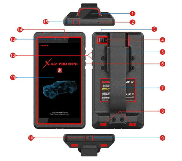 x-431-pro-mini-handset