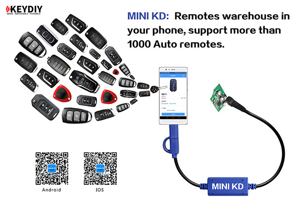 Mini KD Keydiy Key Remote Maker