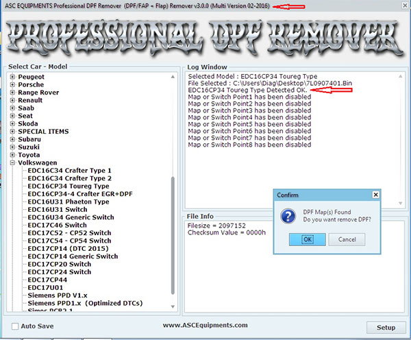 Profesional DPF \ FAP - FLAP Remuver 02.2016 version FULL