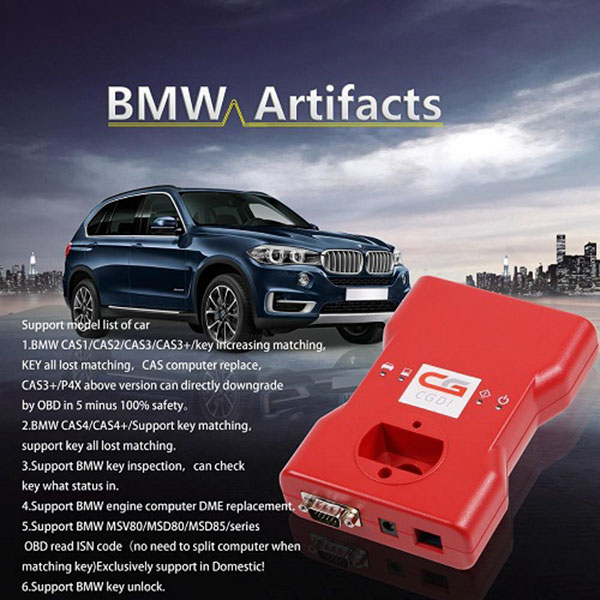 CGDI Prog BMW MSV80 support Model list