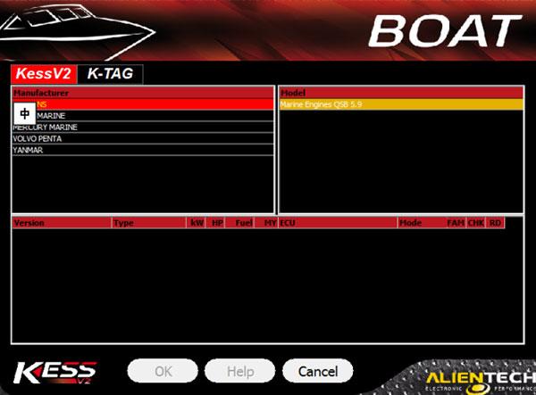 kess v5017 boat