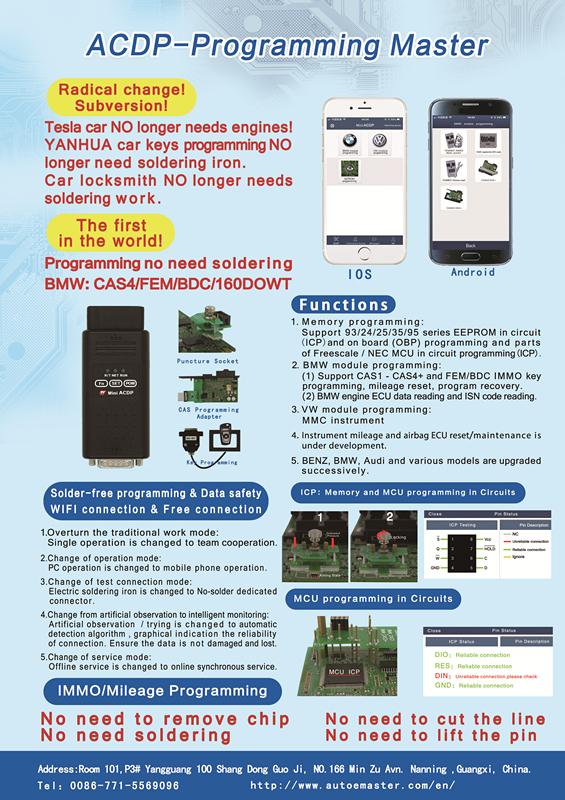 Yanhua Mini ACDP-Programming Master