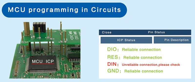 Programmation de microcontr?leurs dans les circuits