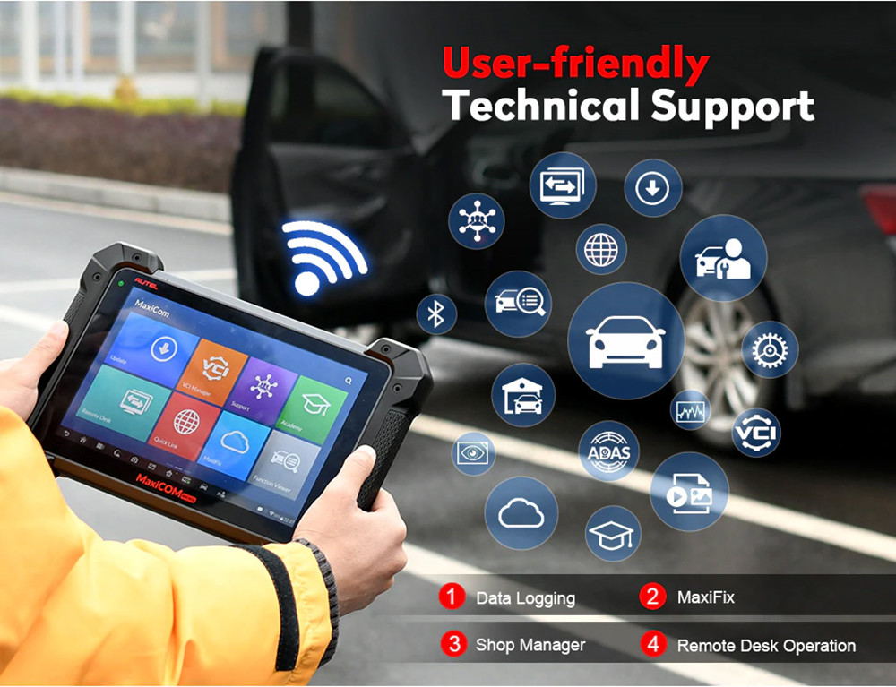 Autel MaxiCOM MK908P technical support