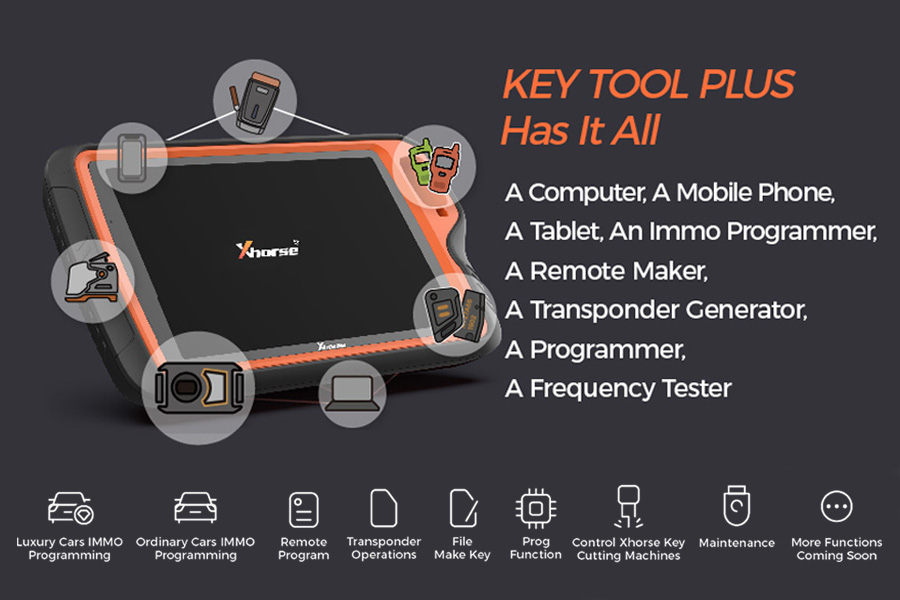 VVDI Key Tool Plus all in one