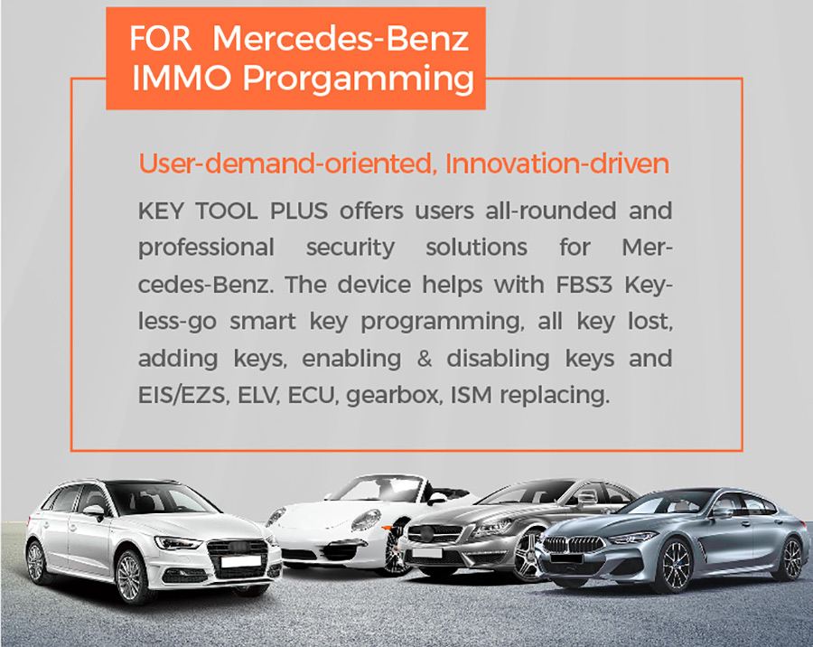 VVDI Key Tool Plus Mercedes-Benz IMMO Programmation